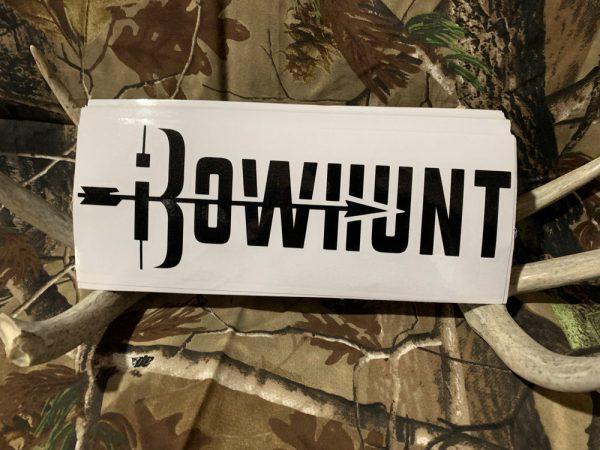 iBowhunt Logo Decal