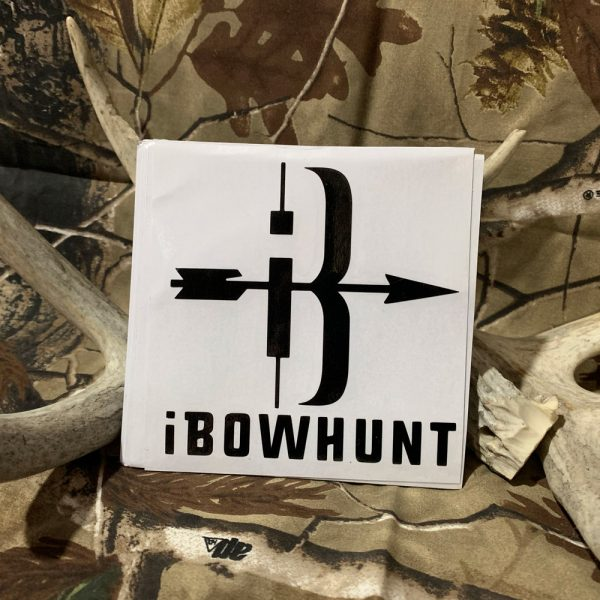 iBowhunt Black Icon Decal