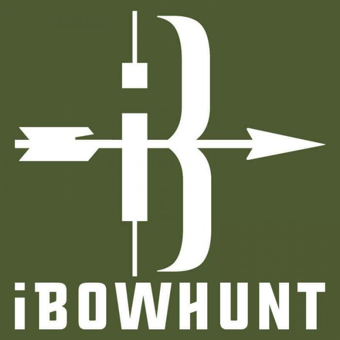 iBowhunt Icon Decal White