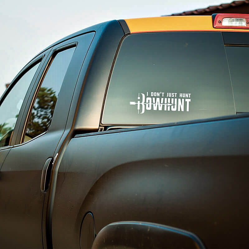 I Don't Just Hunt, iBowhunt Decal